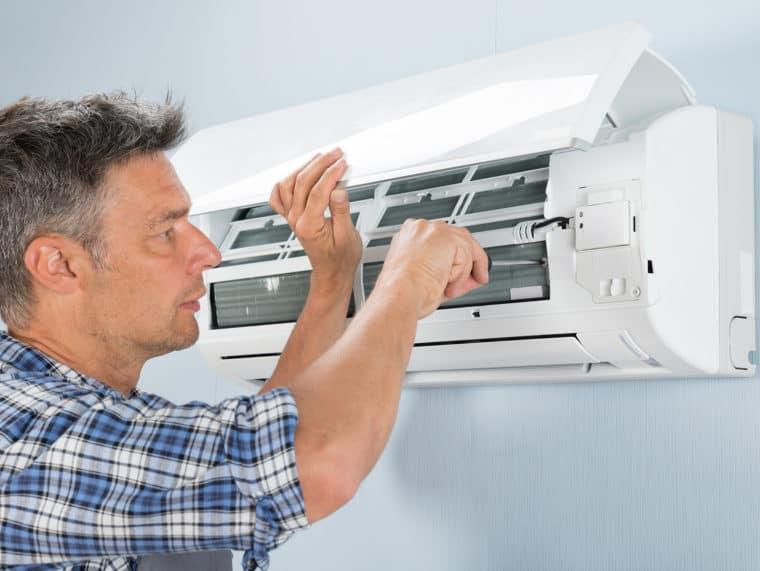 Ductless Mini-Split AC System