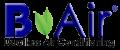 B Air logo transparent