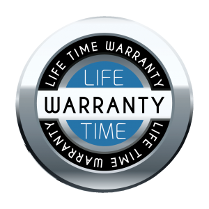 Lifetime Warranty no background